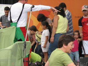 Gente en el escenario