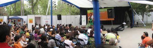 Panoramica - Feria del Libro Parque Forestal