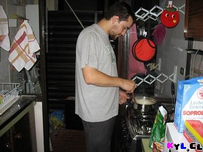 L Cocinando